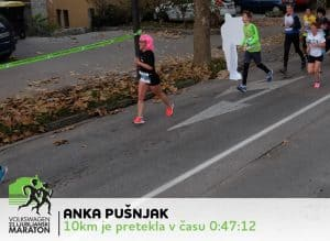 Anka 21. Ljubljanski Maraton