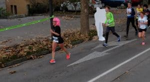 Anka Pušnjak na 21. Ljubljanskem maratonu